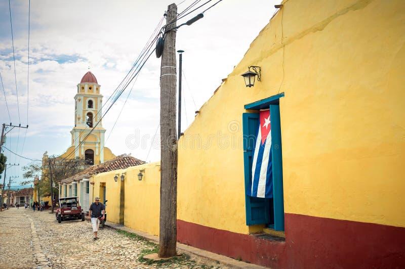 TRINIDAD KUBA - 06 MAJ 2017 fotografering för bildbyråer
