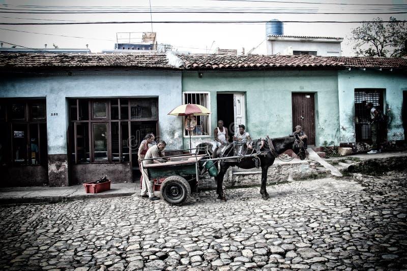 Trinidad - la perla di Cuba fotografia stock libera da diritti