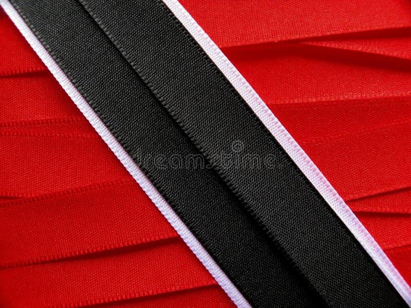 Trinidad och Tobago flagga eller baner royaltyfri foto