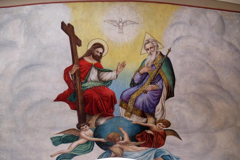 trinidad santa libre illustration