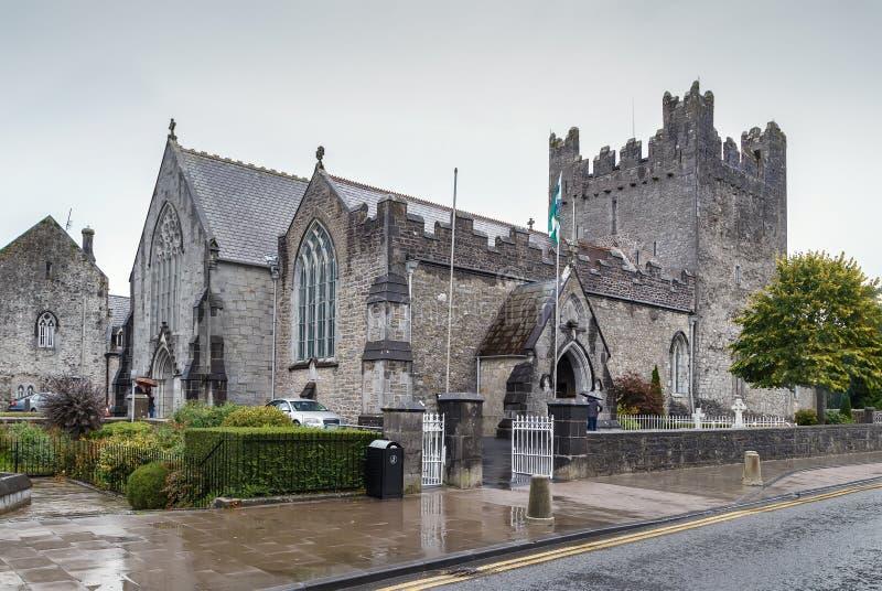 Trinidad santa Abbey Church en Adare, Irlanda imagen de archivo
