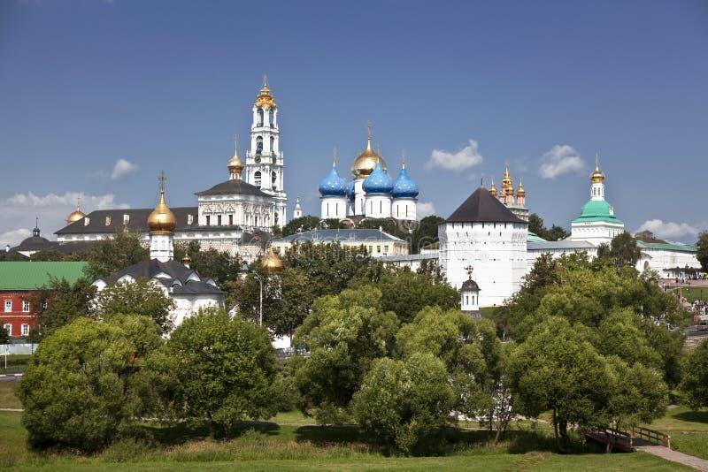 Trinidad santa Sergius Lavra. Sergiev Posad. Rusia fotos de archivo libres de regalías