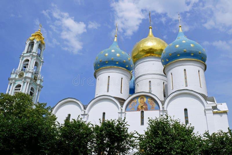 Trinidad Sergius Lavra en Sergiev Posad, Rusia imagen de archivo libre de regalías