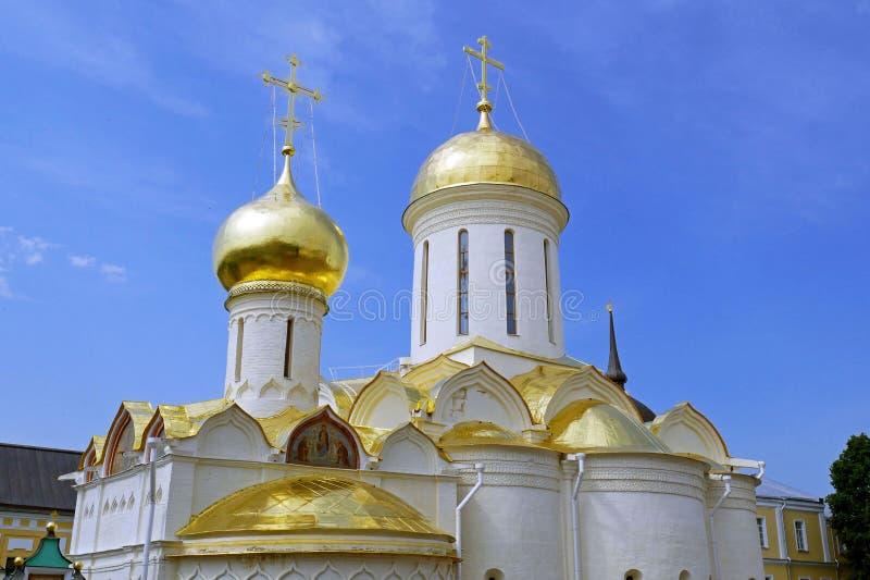 Trinidad Sergius Lavra en Sergiev Posad, Rusia fotografía de archivo libre de regalías