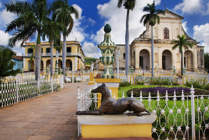 Trinidad-Stadt, Kuba stockbilder