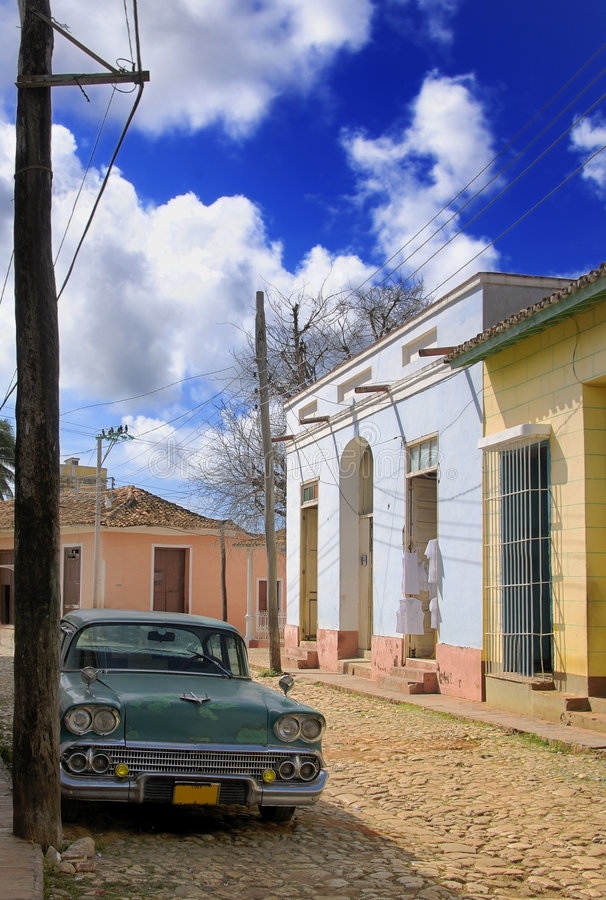 Trinidad-Stadt, Kuba lizenzfreies stockbild