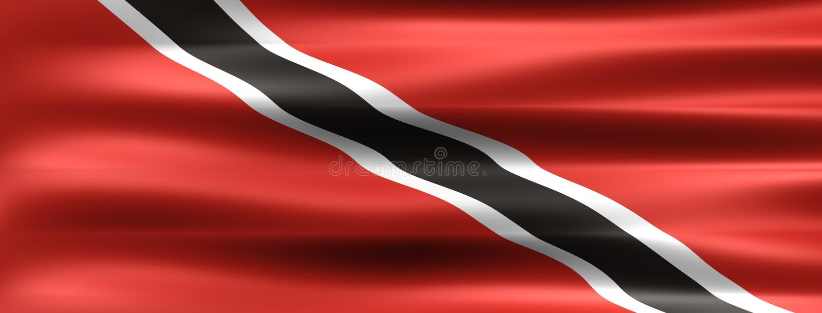 Trinidad and Tobago vector illustration