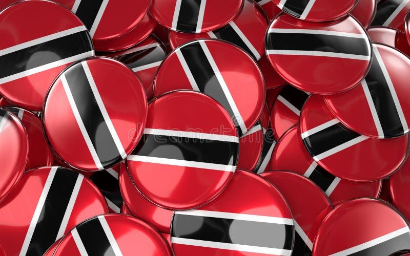 Download Trinidad And Tobago Badges Background Stock Illustration - Illustration: 92615421