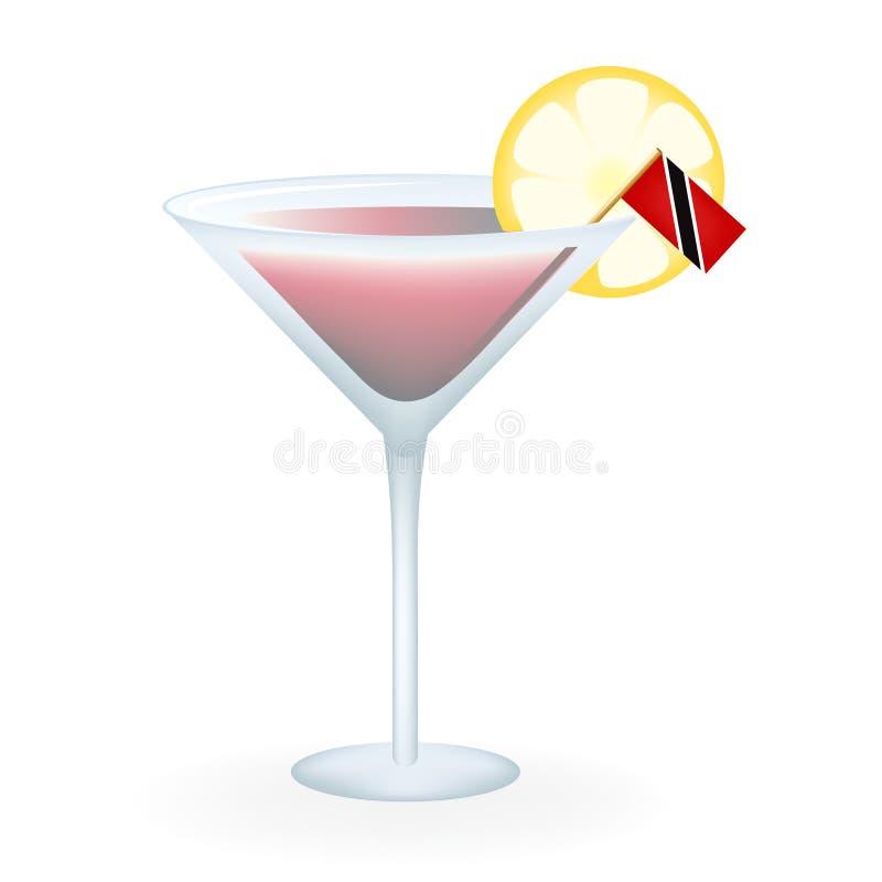 Trinidad And Tobago Cocktail royalty-vrije stock afbeeldingen