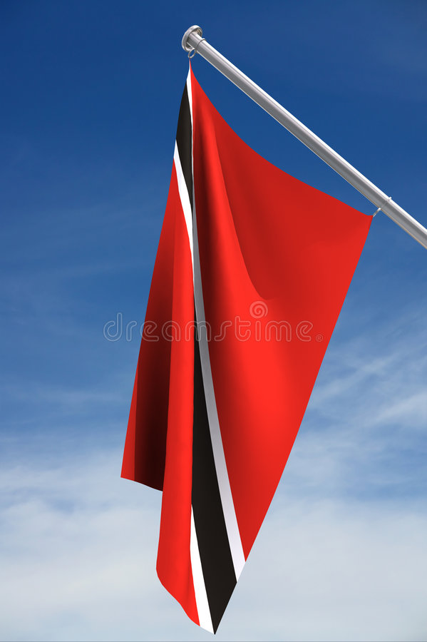 Trinidad and Tobago flag stock images