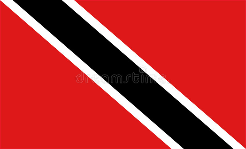 Trinidad and Tobago flag vector illustration