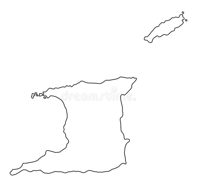 Tobago Outline Stock Illustrations – 202 Tobago Outline ...