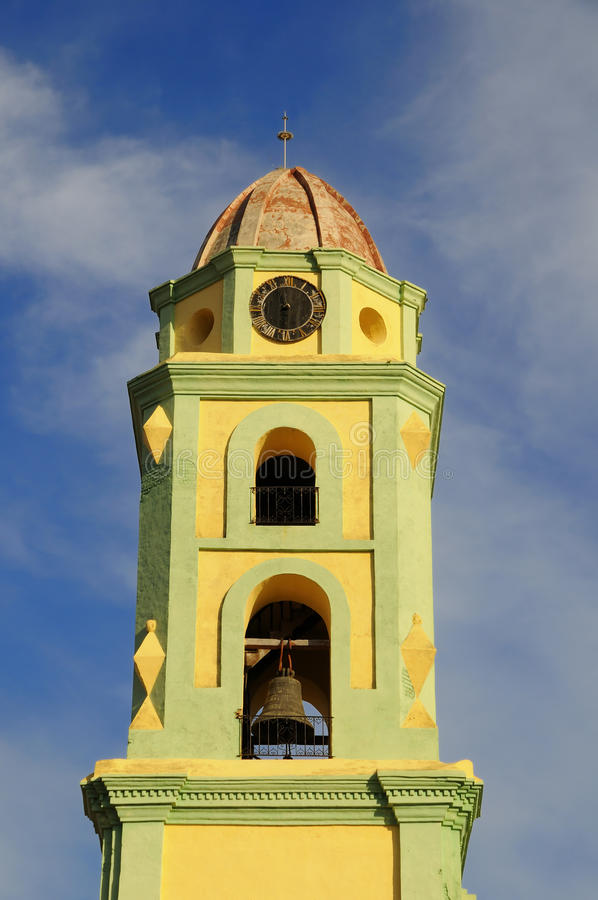Trinidad tower, cuba royalty free stock image