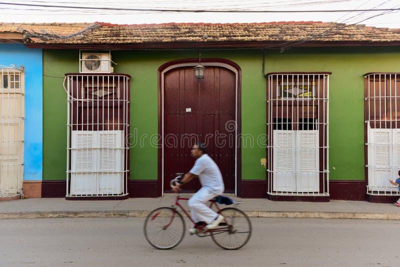 Trinidad velho, Cuba imagem de stock