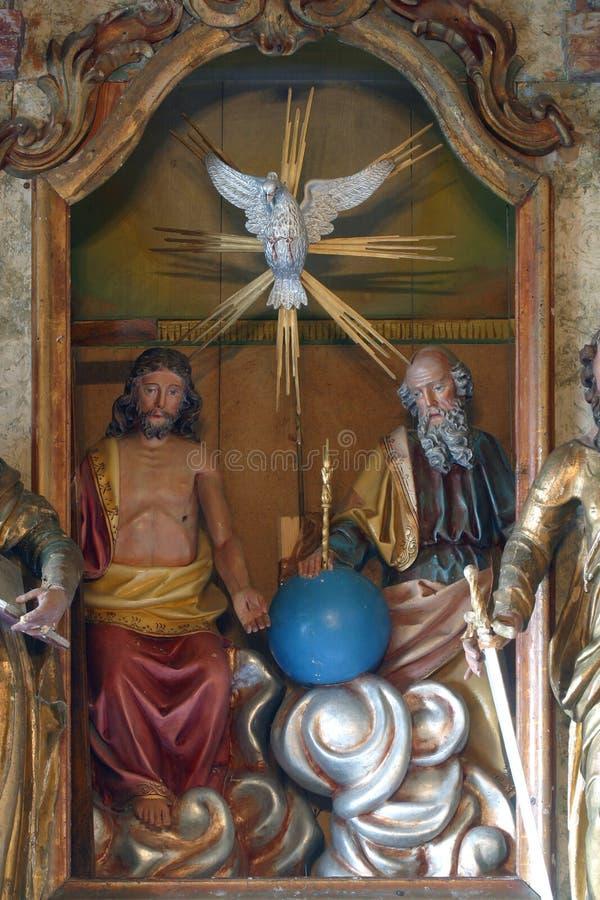 trinité sainte photo libre de droits