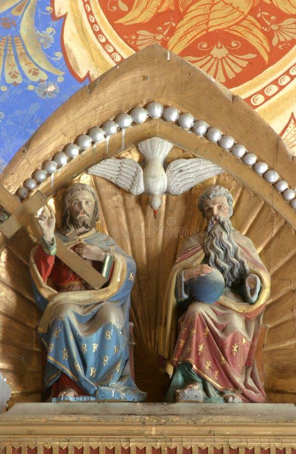 trinité sainte photographie stock libre de droits