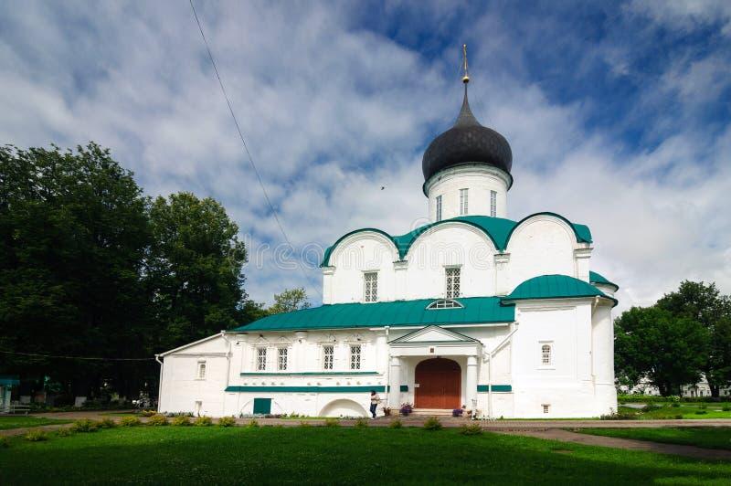 Trinity Cathedral in Aleksandrov Kremlin, built 1513, Russia. royalty free stock photo