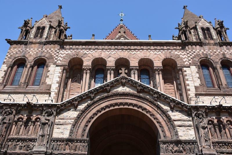 Trinity Church in Boston, Massachusetts royalty free stock photos