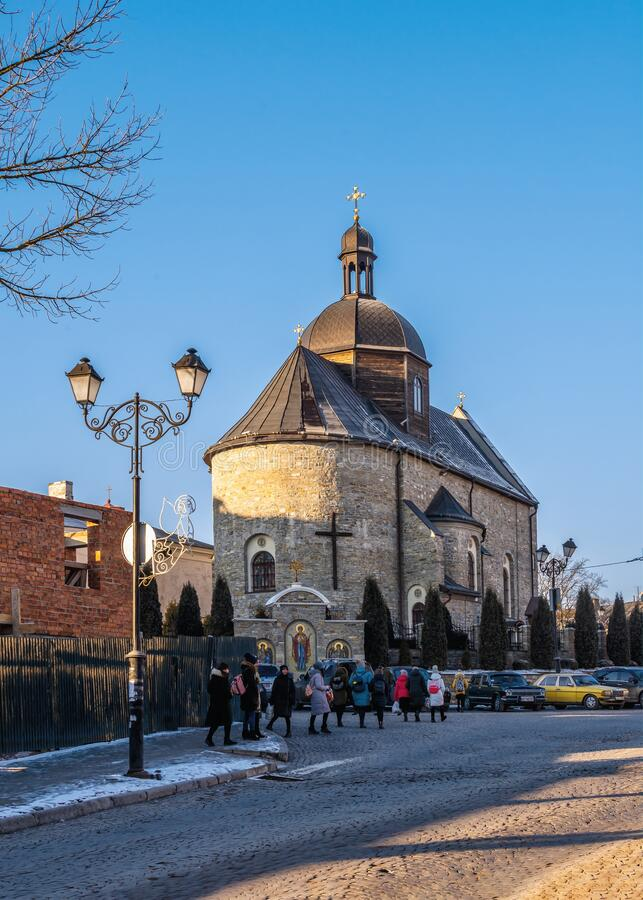 Free Trinity Church In Kamianets-Podilskyi, Ukraine Stock Images - 202341874