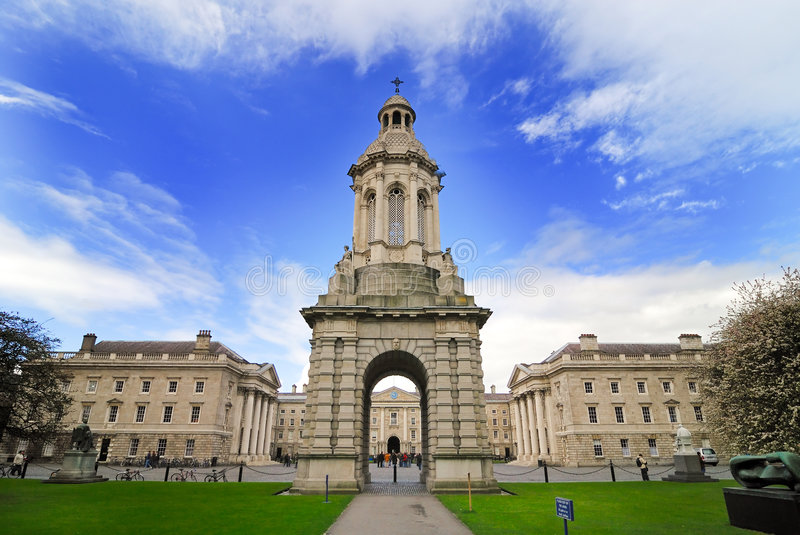 Download Trinity College stock photo. Image of student, europe - 4896898