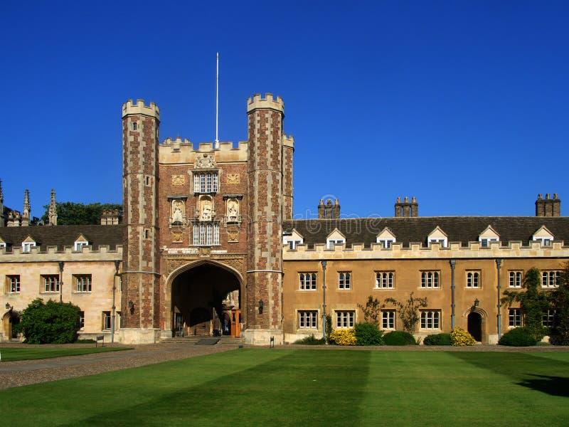 Download Trinity College, Cambridge University Stock Photo - Image: 8183620