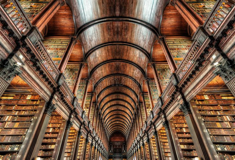 Trinity College Dublin, Ireland royalty free stock image