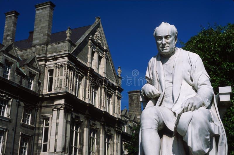 trinity college rzeźby fotografia stock