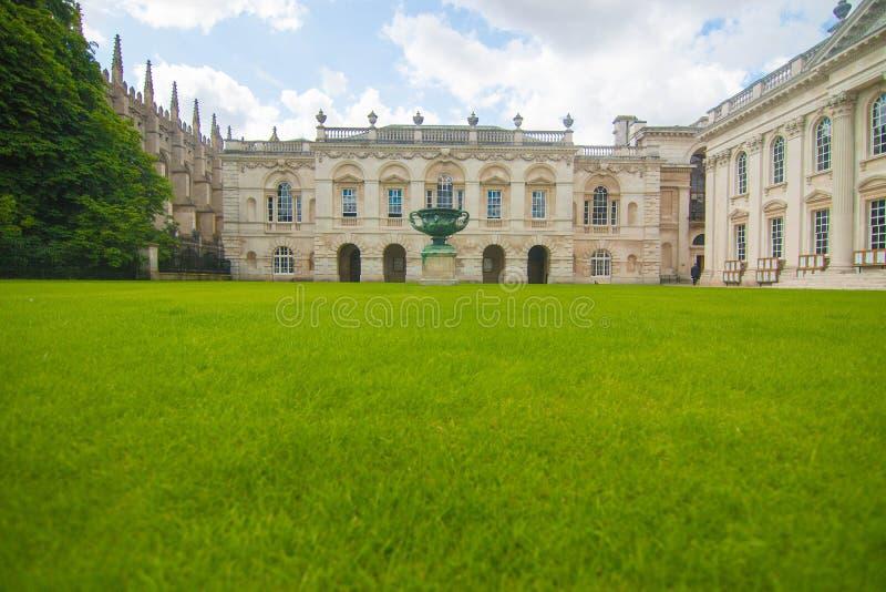 Trinity College, università di Cambridge fotografie stock libere da diritti