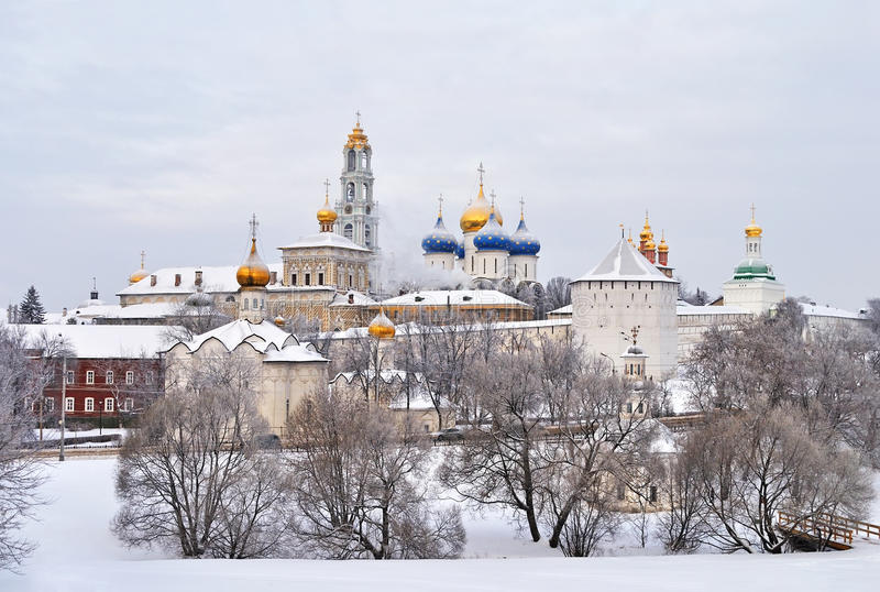 Trinity Lavra of Saint Sergius, Russia royalty free stock photos