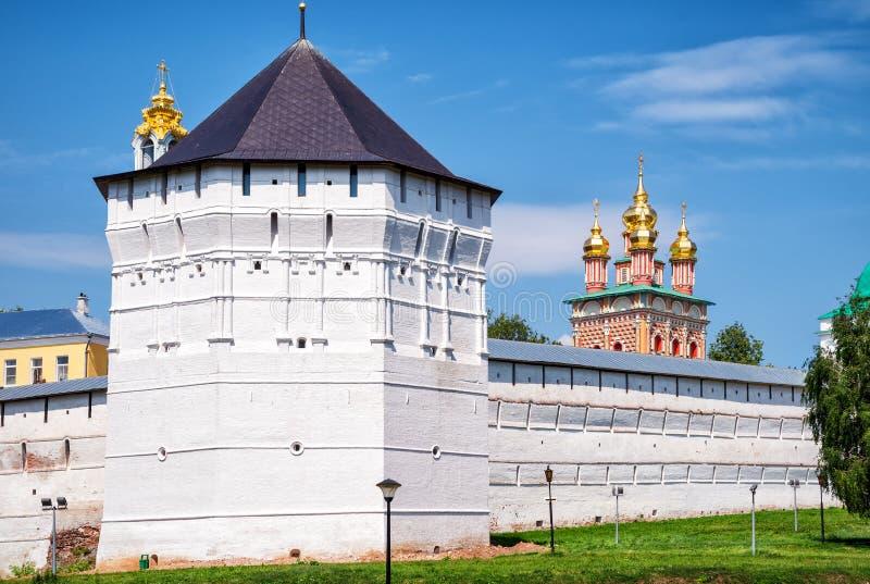 Trinity monastery in Sergiyev Posad (Golden Ring of Russia). Trinity monastery (Trinity Lavra of St Sergius) in Sergiyev Posad near Moscow (Golden Ring of Russia royalty free stock photography