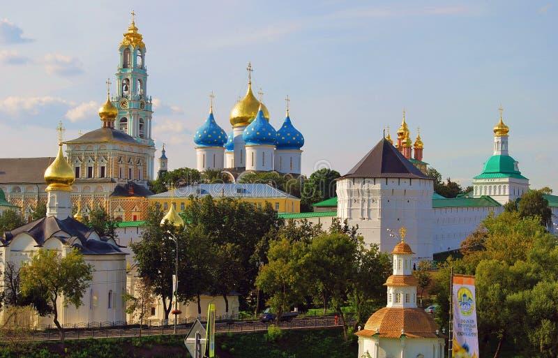Trinity Sergius Lavra, Sergiev Posad, Russia. UNESCO World Heritage Site. SERGIEV POSAD, RUSSIA - AUGUST 24, 2014: View of the Trinity Sergius Lavra. Poopular royalty free stock photo