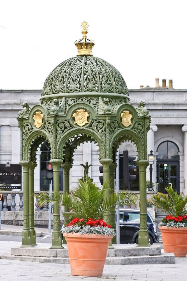 Trinkbrunnen, Dún Laoghaire, Dublin, Irland stockfotos