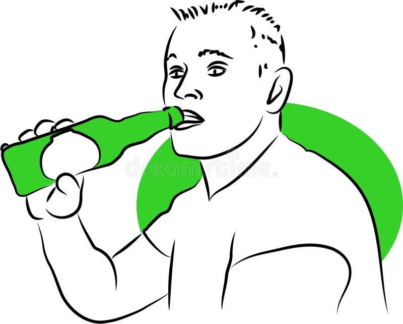 Trinken lizenzfreie abbildung