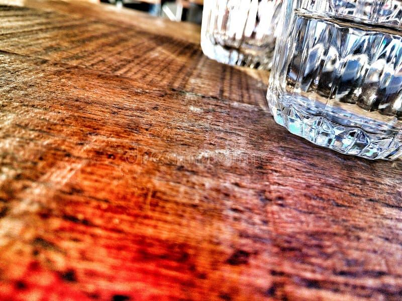 Trinkendes Getränk des Glaswhiskyalkohol-Restaurants stockbilder