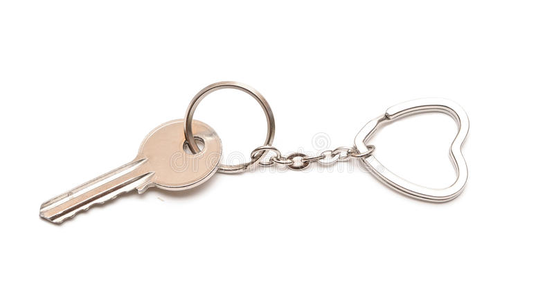 Download Trinket For The Keys As A Heart Stock Image - Image: 23072125