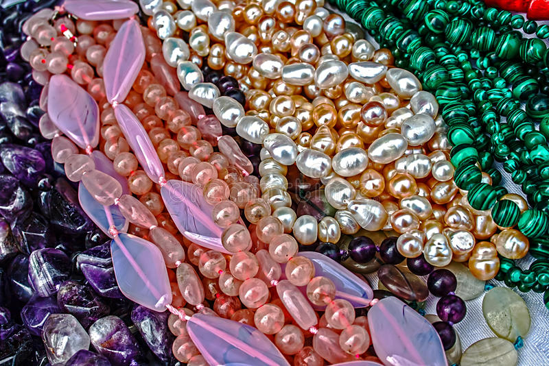 Download Trinkets 31 stock image. Image of chain, brown, gems - 26153431