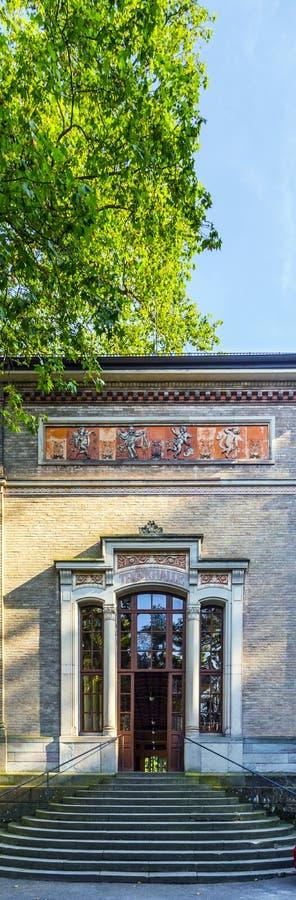 Trinkhalle ,pump house in the Kurhaus spa complex in Baden-Baden. The Trinkhalle ,pump house in the Kurhaus spa complex in Baden-Baden royalty free stock photo