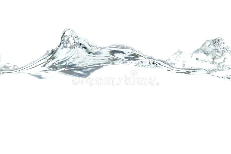 Trinkwasser-Welle stockfoto