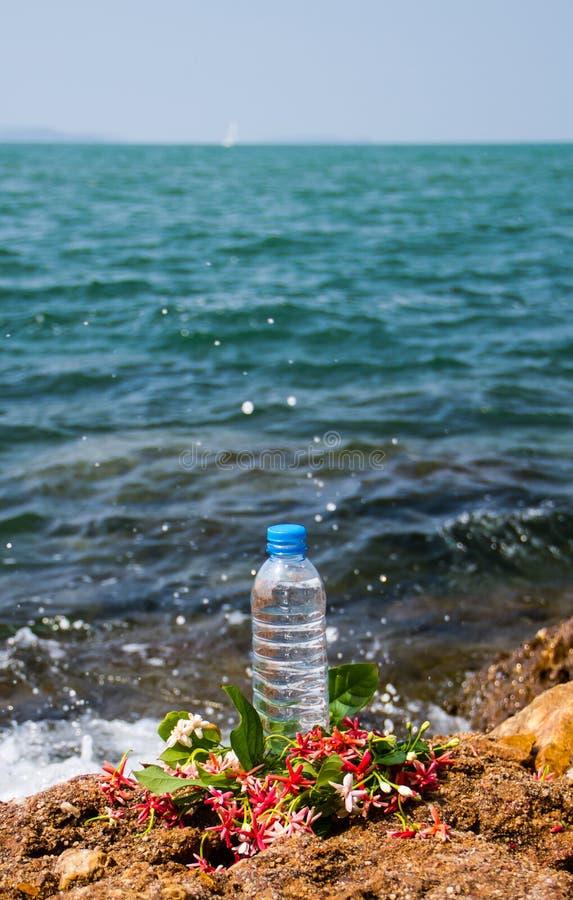 Trinkwasserflasche stockbild