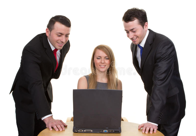 Download Trio Of Business People Royalty Free Stock Photos - Image: 26276308