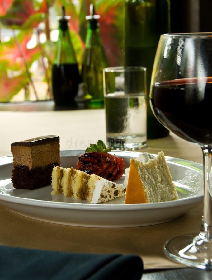 Download Trio of cake stock photo. Image of glass, trio, wine - 11323006