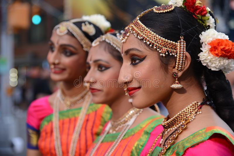 Trio de festival de Diwali photo stock