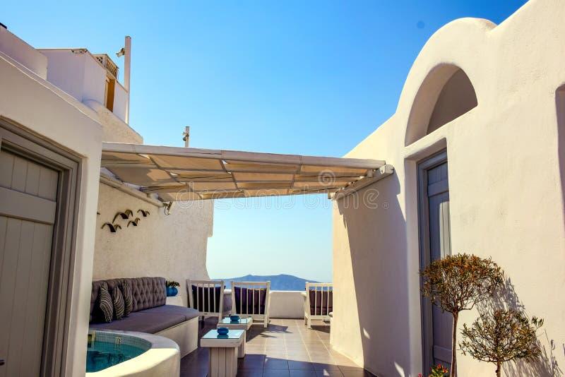 Photos from Santorini island, Cyclades, Greece stock photography