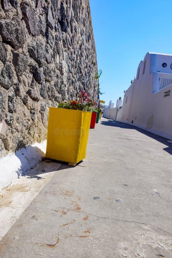 Photos from Santorini island, Cyclades, Greece stock image