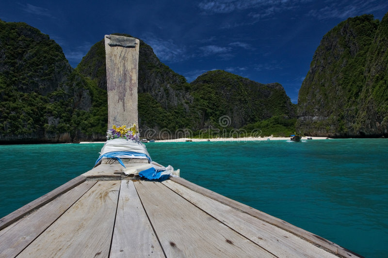 Download Trip to Maya Bay stock photo. Image of longtail, climate - 6837652