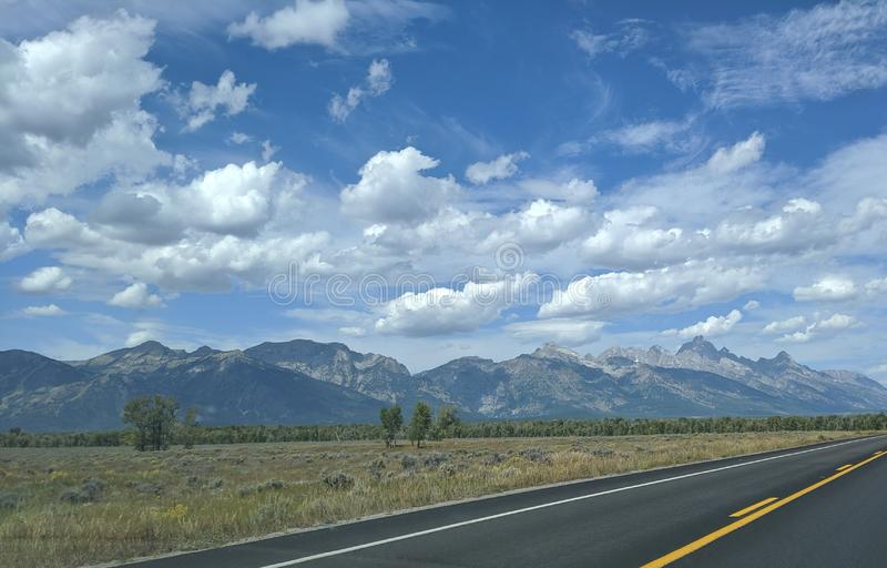 Trip to the mountains royalty free stock photography