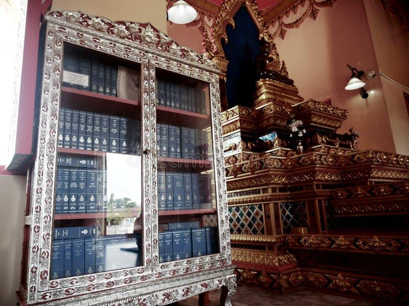 Tripiá ¹aka buddism i Thailand arkivfoto