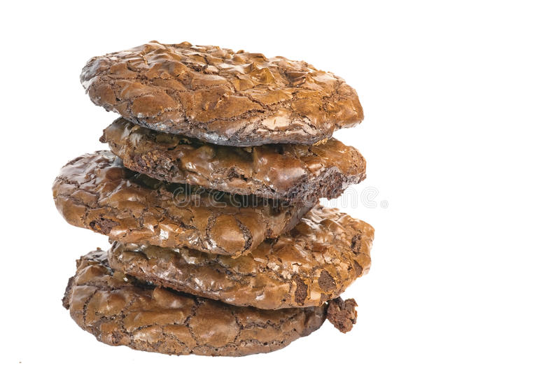 Download Triple Chocolate Cookies stock photo. Image of chips - 14949644