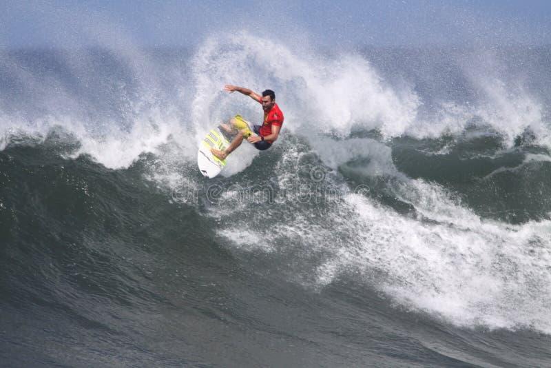 Triple Crown de surfer images libres de droits