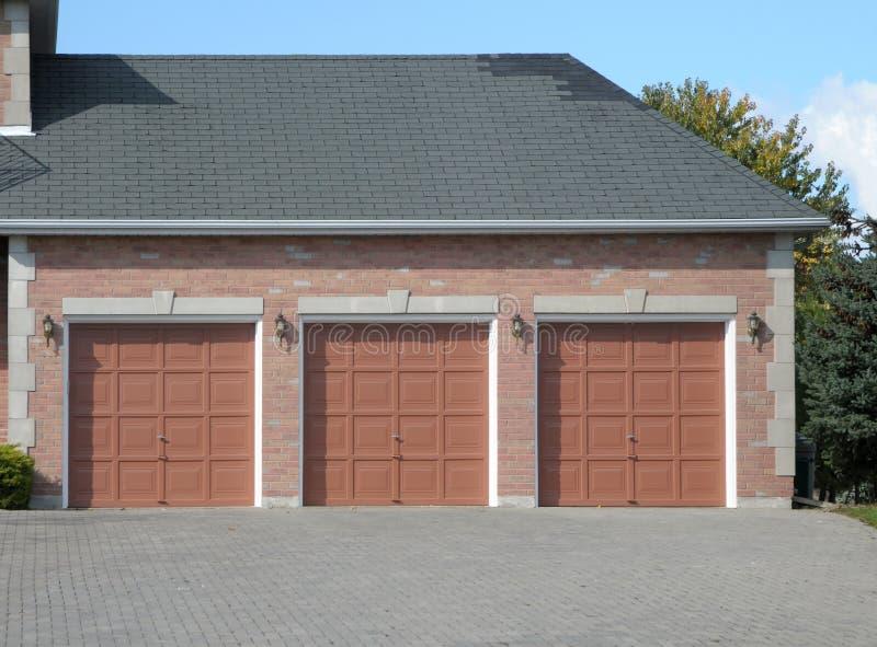 Download Triple Garage Stock Images - Image: 6770804